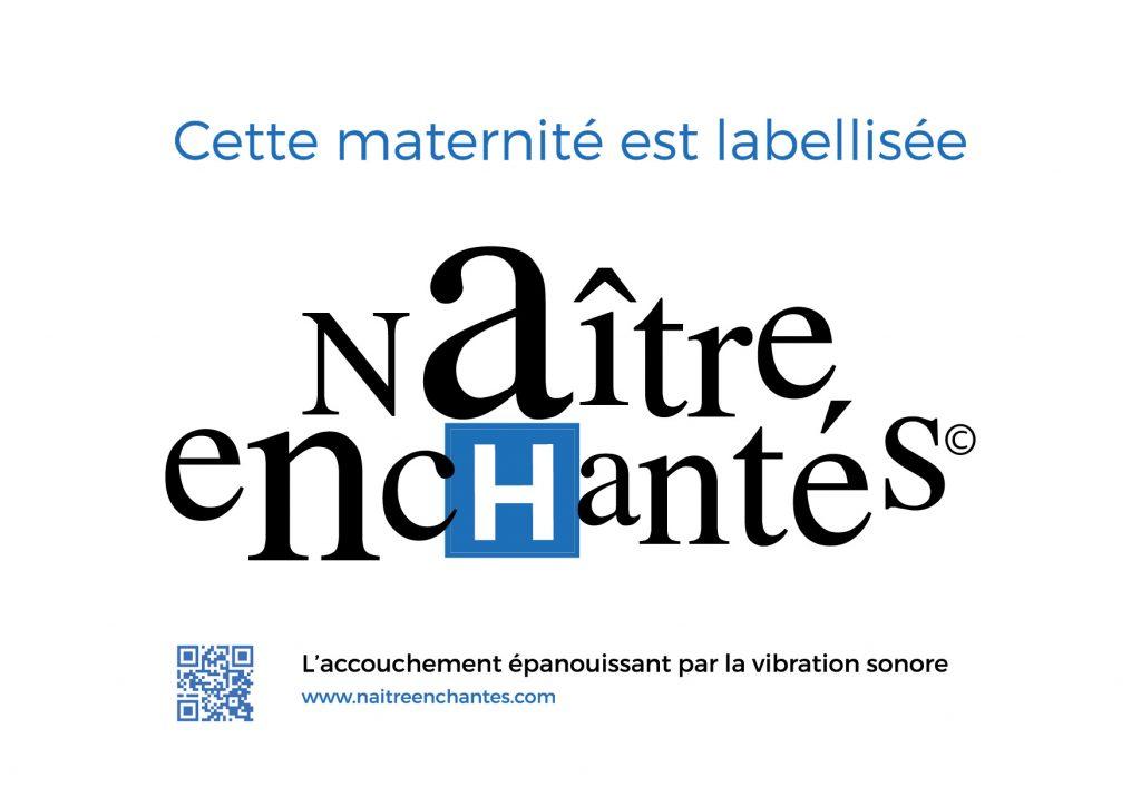 label Naître Enchantés Maternités