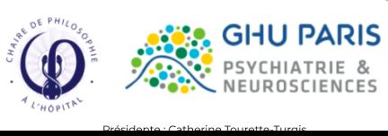 logo GHU Paris et Chaire de Philosophie