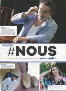 image d'une des couvertures du magazine Nous