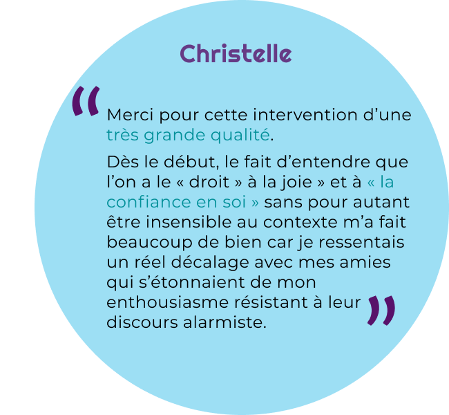quote Christelle